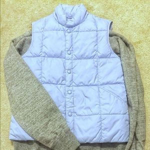 Lands' End Sky Blue Puffer Vest - Size M (EUC)
